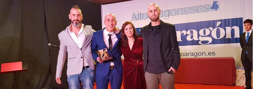 Transportes Callizo recibe el Premio Altoaragoneses del año en la categoría de empresa