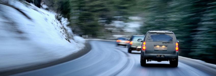 Consejos para conducir con hielo en la carretera